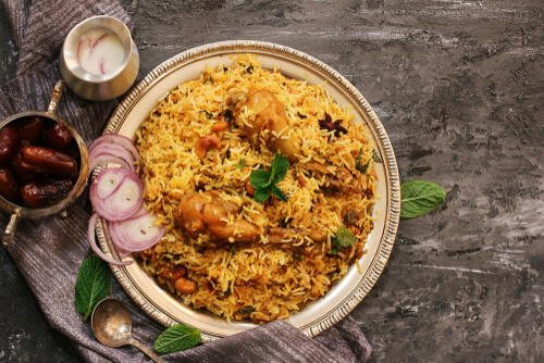 All about Biryani
