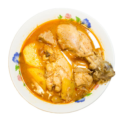 Arabian Chicken Curry and Potatoes