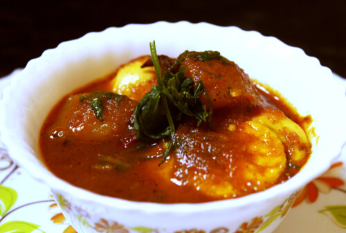 Bengali Egg Curry