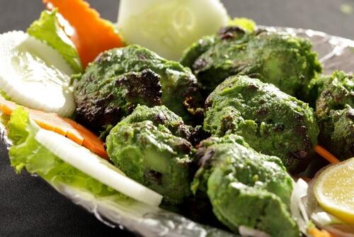 Hariyali Chicken Kabab (Green Chicken Kabab)