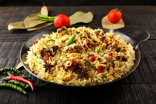 Awadhi Mutton Biryani
