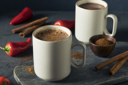 Mexican Hot spiced Cocoa