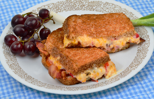 Onion Cheese Sandwich