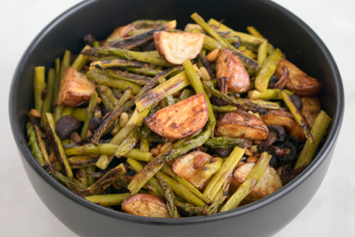 Oven Roasted Red Potatoes and Asparagus