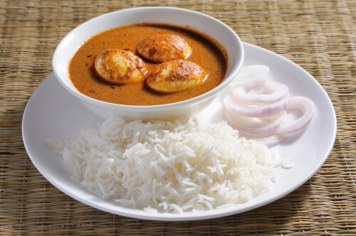 South Indian Egg Korma