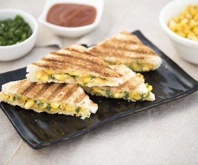 Tandoori Corn Sandwich