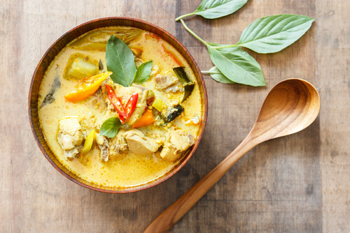 Curry Chicken – Thai Style