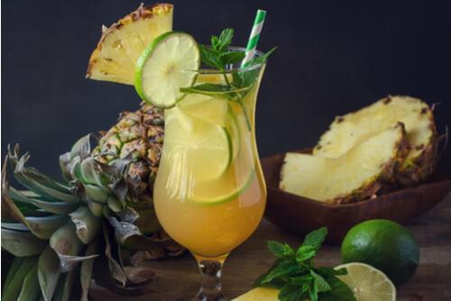 Pineapple Mint Mojito