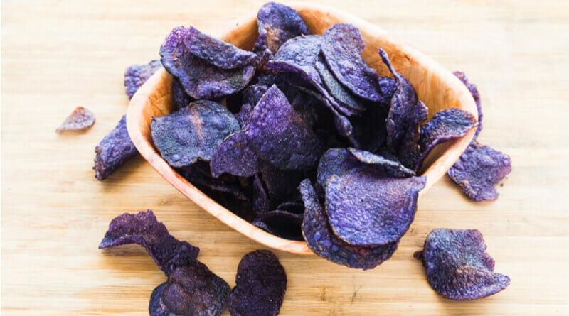 Purple Potato Chips