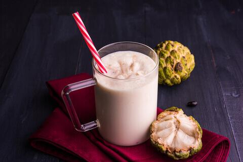 Custard Apple Milkshake