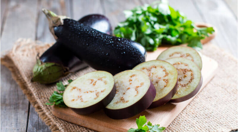 prevent brinjal from browning