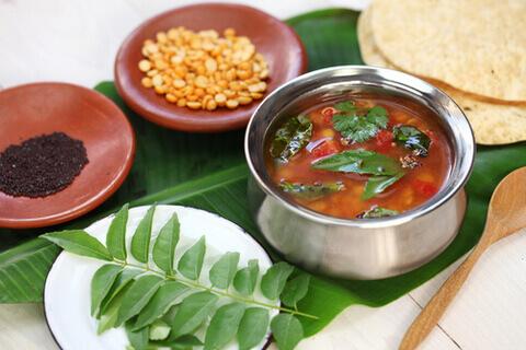 Chettinad Style Poondu Rasam/Garlic Rasam