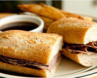 Gluten-Free French Dip Sandwiches