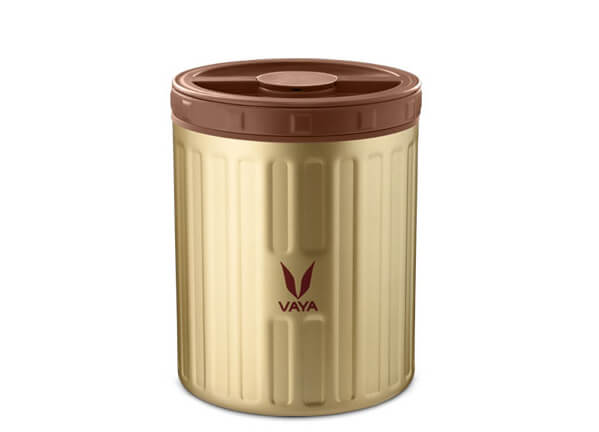 Food Storage Container Gold