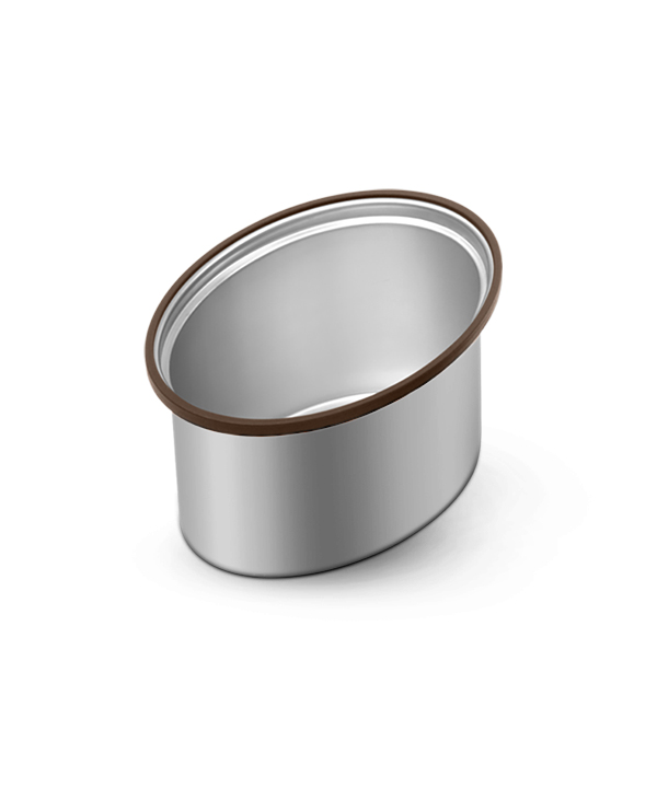 Polished SS Snack Container