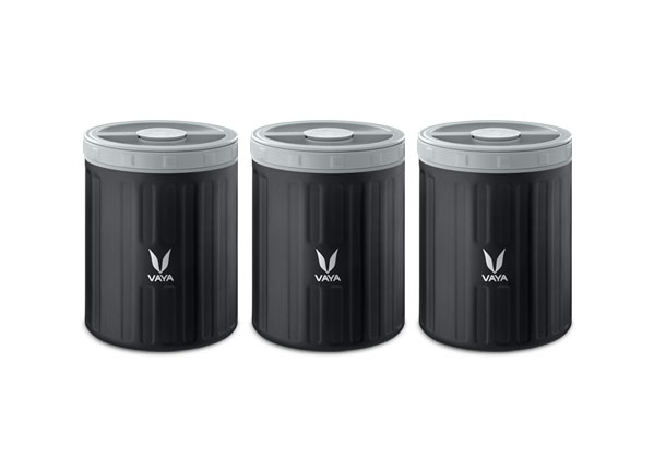 Food Storage Container Black