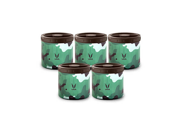 Food Storage Container Camo