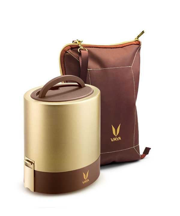 Gold Lunch box
