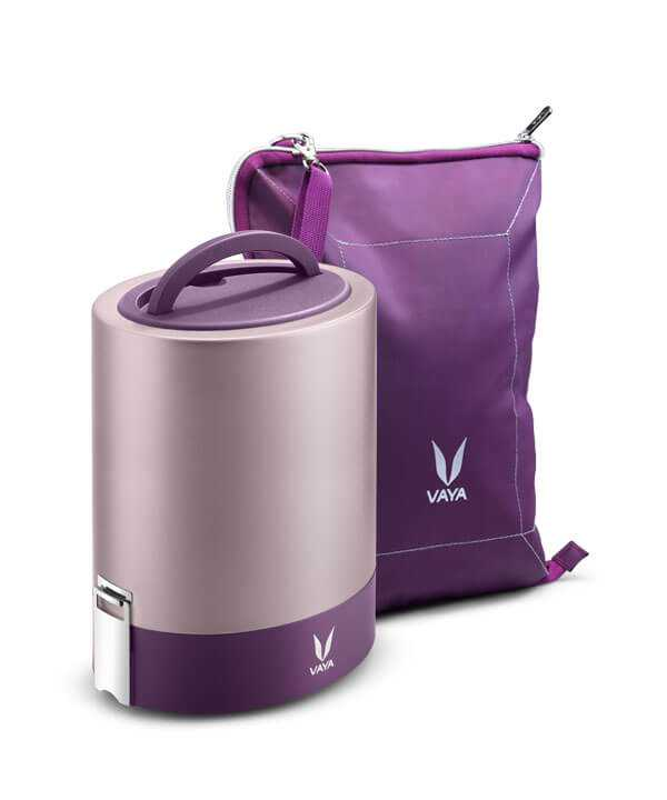 purple Lunch box