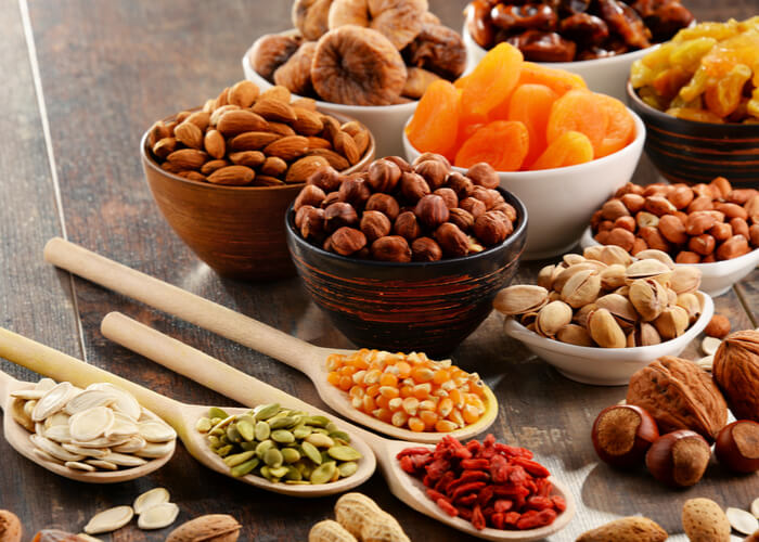 Here's how you can increase the shelf life of nuts and dry fruits