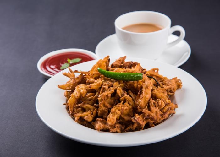 Chai and Pakoras Any One?