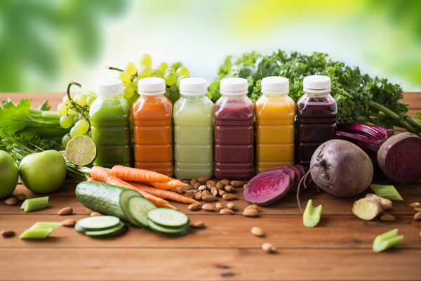 vegetable fruit smoothies