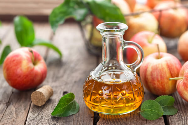 Diluted Apple Cider Vinegar