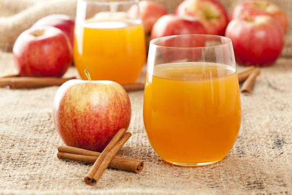 Cinnamon and Apple Juice