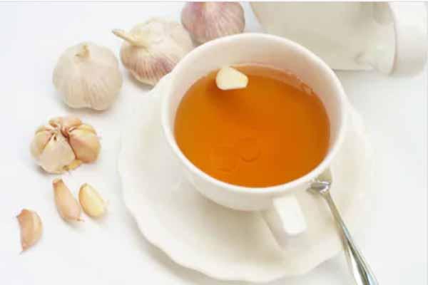garlic and honey tea