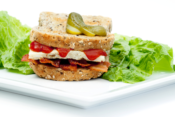 Cranberry Turkey Sandwich with Greens and Walnut Butter
