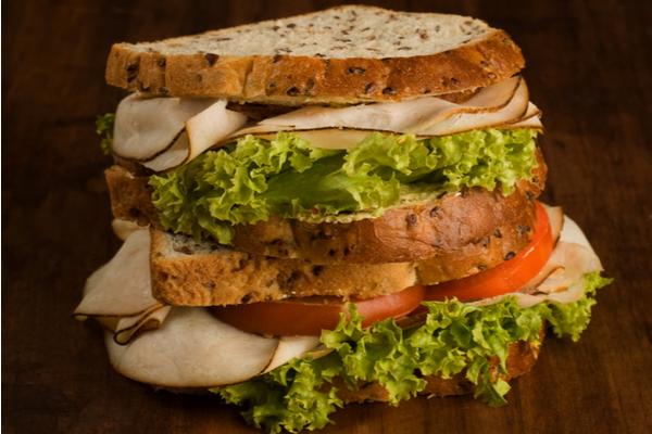 Thai Chicken Peanut Crunch Sandwich
