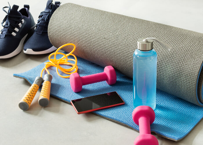 11 Best Fitness Accessories for At Home Workouts