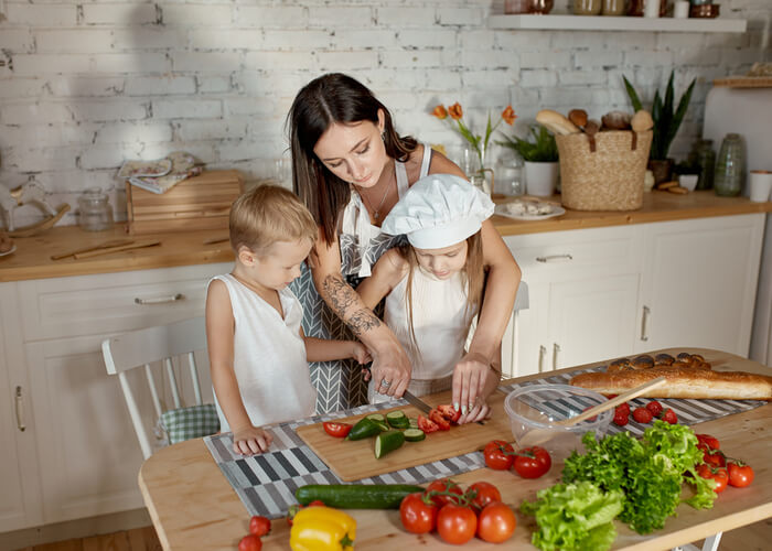 10 Reasons Why Cooking with Your Kids is a Good Idea