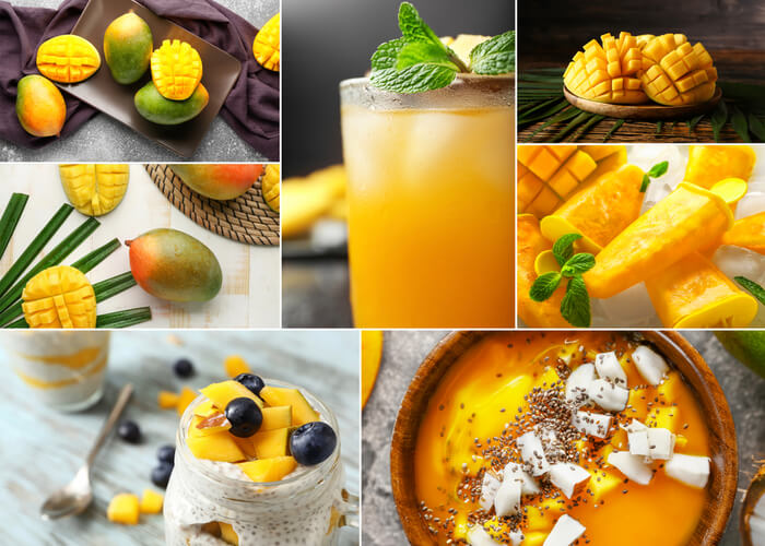10 Smoothies You Can Make with Mangoes