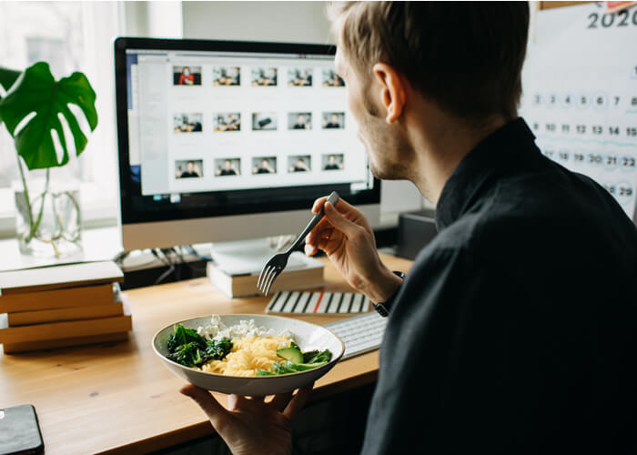 10 Quick Work from Home Lunches