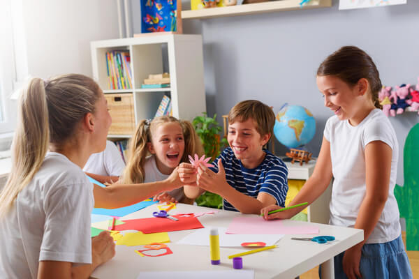 engage children in new craft