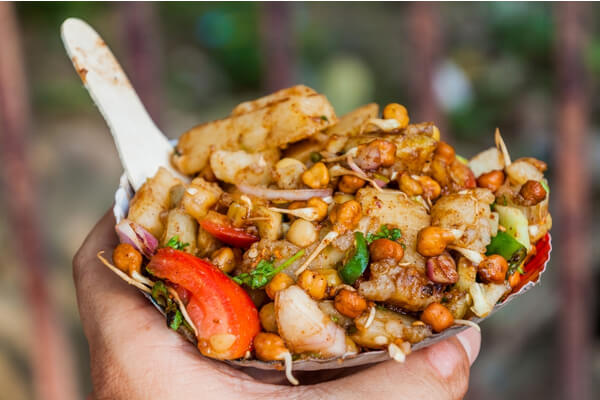 spicy chaat