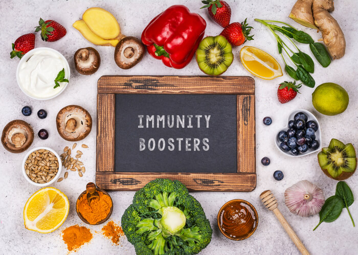 Top 10 Foods That Help Boost Your Immunity