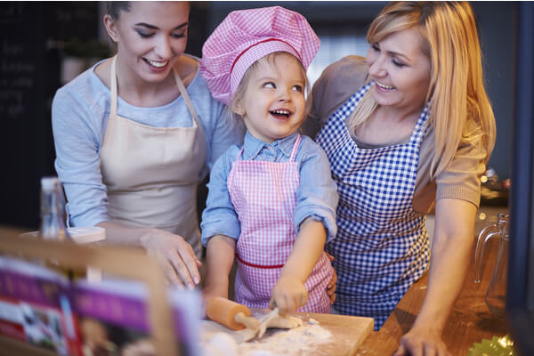 bake with your kids