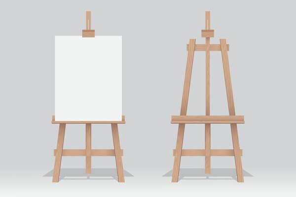 artwork easel