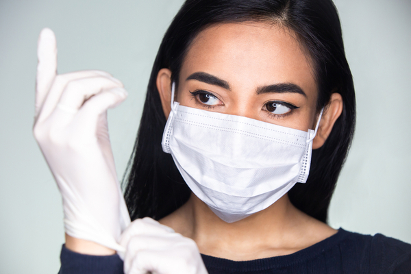 mask reduce viral transmission