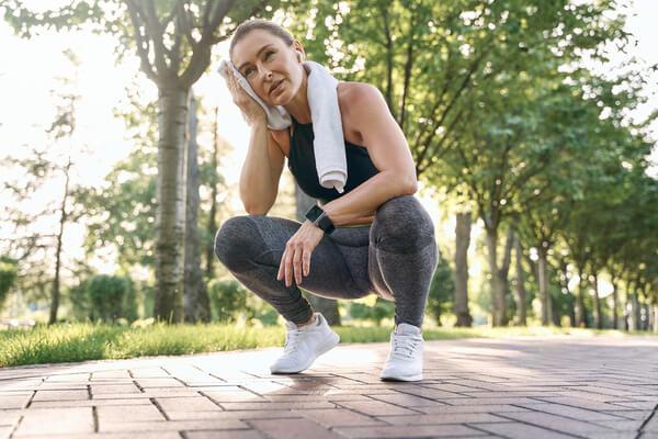 avoid exercise on hot days