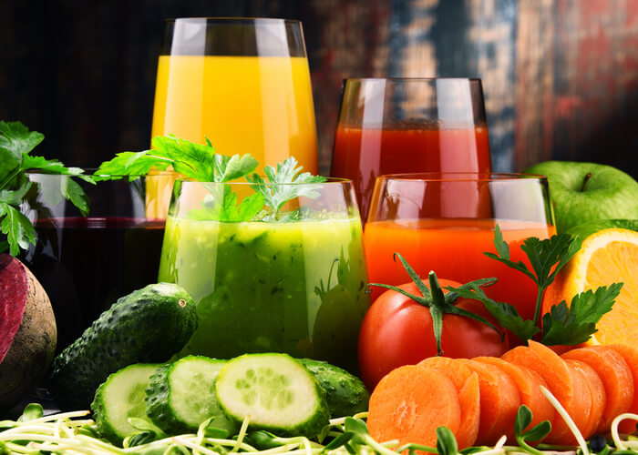 Ten Healthy Vegetable Juices for a Glowing skin