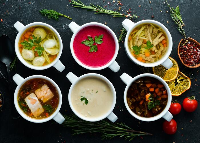 6 Soup Recipes for a Rainy Evening