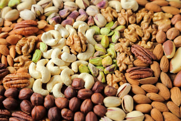 nuts assortment